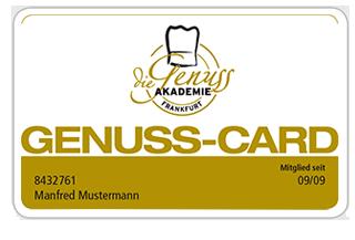 Genuss Card Genussakademie